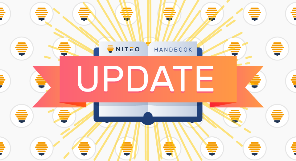 The Niteo Handbook update – less bloat, more information featured image